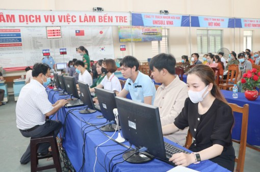 Phiên giao dịch trực tuyến kết nối 4 tỉnh Bến Tre, Trà Vinh, Bình Dương và TP. Cần Thơ