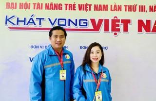 3 cá nhân được tuyên dương tại Đại hội Tài năng trẻ Việt Nam lần III năm 2020