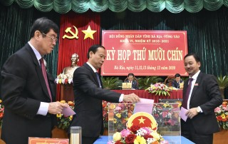 Bầu bổ sung Phó chủ tịch UBND tỉnh Bà Rịa - Vũng Tàu
