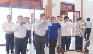 Lễ an vị tượng cụ Phó bảng Nguyễn Sinh Sắc