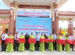 Khánh thành Khu lưu niệm Nguyễn Sinh Sắc tại Khu di tích Chùa Tuyên Linh