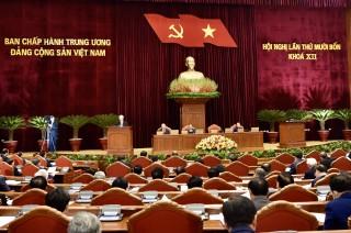 Hội nghị Trung ương 14 hoàn thành sớm toàn bộ chương trình