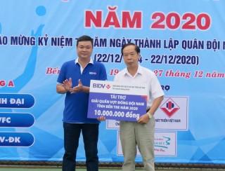 Khai mạc Giải Quần vợt đồng đội nam năm 2020