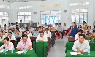 Đại biểu HĐND tỉnh tiếp xúc cử tri sau Kỳ họp thứ 19