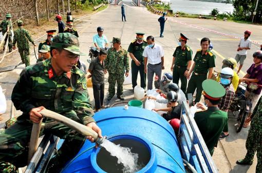 Lực lượng vũ trang Bến Tre tự hào phát huy truyền thống