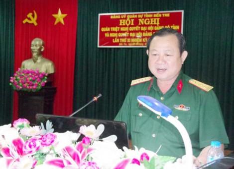 Đảng ủy Quân sự tỉnh tổ chức quán triệt Nghị quyết Đảng bộ tỉnh
