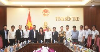 Chủ tịch UBND tỉnh Trần Ngọc Tam tiếp và làm việc với Tập đoàn Thành Thành Công