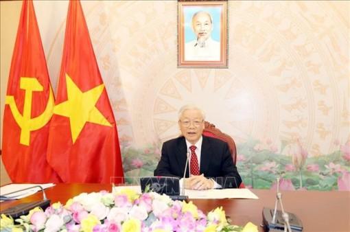 Tổng Bí thư, Chủ tịch nước gửi điện chúc mừng Hội đồng Toàn quốc Đảng Cộng sản Pháp