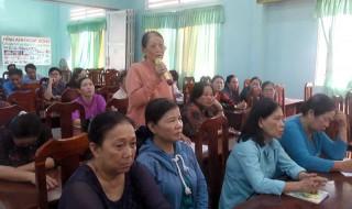 Đại biểu HĐND tỉnh tiếp xúc cử tri tại Chợ Lách, Thạnh Phú