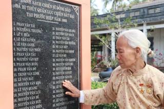 Thêm một di tích lịch sử văn hóa cấp tỉnh tại xã Phước Hiệp