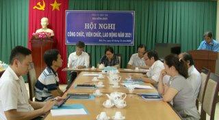 Báo Đồng Khởi tổ chức Hội nghị công chức, viên chức, người lao động năm 2021