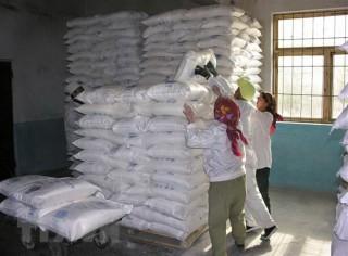 Triều Tiên nhận viện trợ lương thực trị giá 10 triệu USD trong 2020