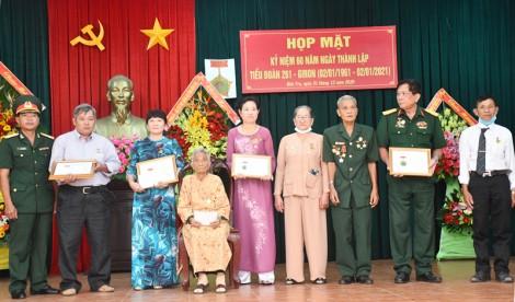 Họp mặt kỷ niệm 60 năm ngày thành lập Tiểu đoàn 261 - Giron