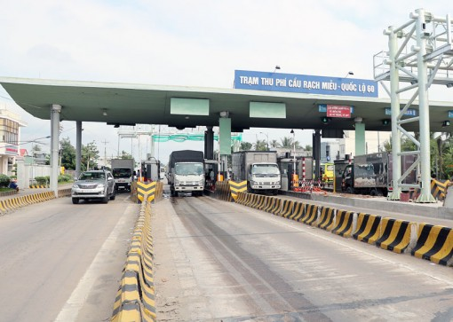 Đề xuất cấm xe 3 trục qua cầu Rạch Miễu dịp Tết 2021