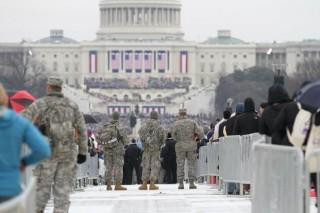 Hàng nghìn Vệ binh Quốc gia Mỹ sẵn sàng cho lễ nhậm chức của ông Joe Biden