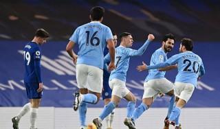 Man City thăng hoa, thắng chóng vánh Chelsea trên sân khách