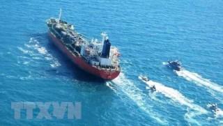 Iran bắt giữ một tàu chở dầu treo cờ Hàn Quốc