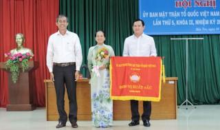 Ủy ban MTTQ Việt Nam tỉnh đạt cờ thi đua xuất sắc nhiều năm liền
