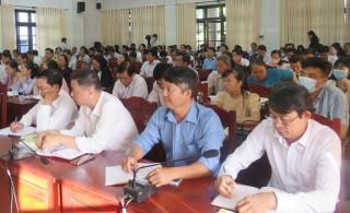 Hội nghị cán bộ chủ chốt quán triệt Nghị quyết Đại hội đại biểu Đảng bộ tỉnh lần thứ XI