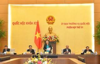 Ủy ban Thường vụ Quốc hội sẽ cho ý kiến về công tác bầu cử đại biểu Quốc hội khóa XV