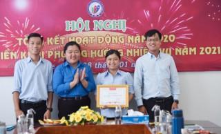 Trung tâm Hoạt động thanh thiếu nhi tỉnh tổng kết hoạt động năm 2020