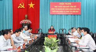 Hội nghị tổng kết công tác ngành Nội chính Đảng năm 2020