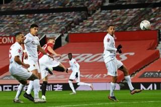 McTominay ghi bàn duy nhất, 'M.U B' nhẹ nhàng vào vòng 4 FA Cup
