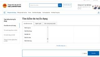 Khai trương Cổng thông tin dịch vụ việc làm quốc gia