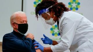 Tổng thống đắc cử Mỹ Joe Biden tiêm liều vaccine Covid-19 thứ 2