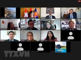ĐSQ Việt Nam chủ trì họp chuyển giao vai trò Chủ tịch ASEAN Bern
