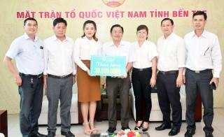 Ký kết các hoạt động giữa Ủy ban MTTQ Việt Nam với Hệ thống Nha khoa Sài Gòn Tâm Đức