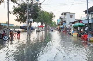 Cảnh báo triều cường kết hợp nước dâng từ ngày 12 đến 15-1-2021