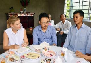 Dự án AMD Bến Tre thúc đẩy phát triển kinh tế - xã hội Mỏ Cày Nam