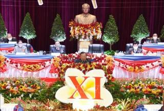 Khai mạc Đại hội Đại biểu toàn quốc Đảng Nhân dân Cách mạng Lào lần thứ XI