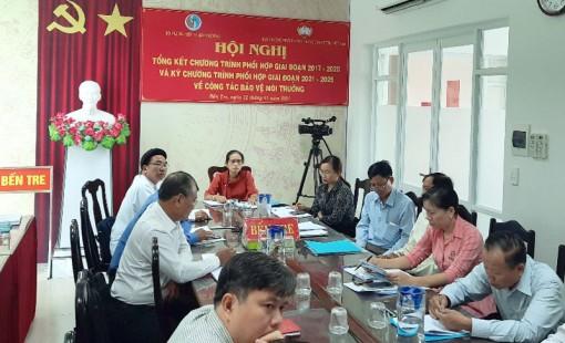 Tổng kết Chương trình phối hợp giữa Ban Thường trực Ủy ban Trung ương MTTQ Việt Nam và Bộ Tài nguyên và Môi trường