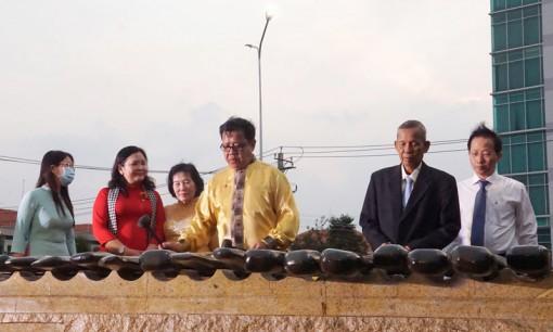 Khánh thành công trình 13 bộ đàn đá tại công viên Bến Tre
