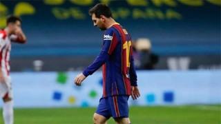 Công bố án phạt dành cho Messi sau chiếc thẻ đỏ phải nhận ở trận Barca vs Bilbao