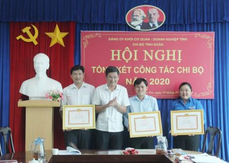 Chi bộ Tỉnh Đoàn tổng kết năm 2020