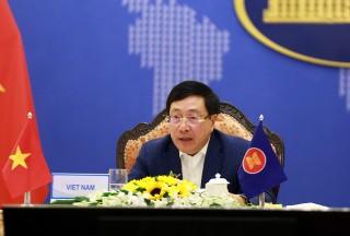 Phó thủ tướng Phạm Bình Minh dự Hội nghị hẹp Bộ trưởng Ngoại giao ASEAN
