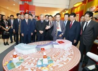 Chính thức khai trương Trung tâm Báo chí phục vụ Đại hội XIII của Đảng
