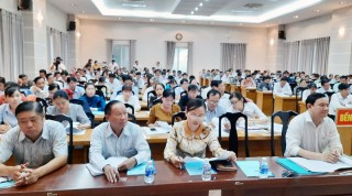 Tập huấn công tác bầu cử đại biểu Quốc hội khóa XV và đại biểu HĐND các cấp nhiệm kỳ 2021 - 2026