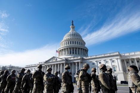Hàng trăm lính Vệ binh Quốc gia bảo vệ lễ nhậm chức của ông Biden mắc Covid-19