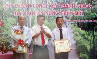 Hơn 8,9 tỷ đồng xây dựng ấp nông thôn mới Thành Long