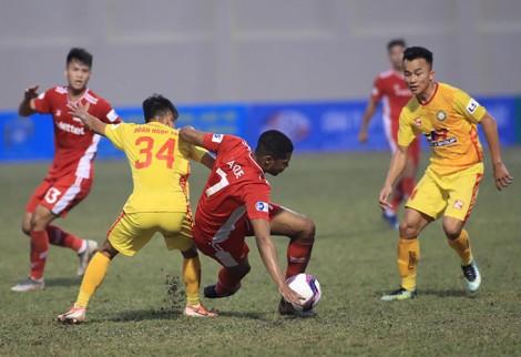 Thanh Hoá và Viettel chia điểm