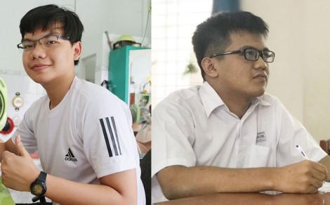 Hai học sinh giỏi cấp quốc gia