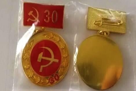 289 đảng viên được nhận Huy hiệu Ðảng đợt 3-2