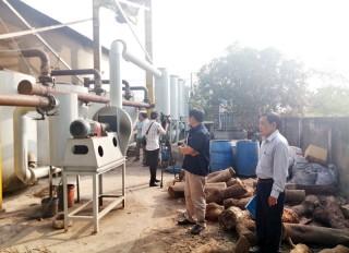 Sản xuất than gáo dừa thiêu kết thân thiện môi trường