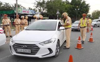 Tăng cường công tác đảm bảo trật tự an toàn giao thông