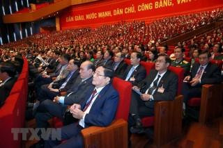 Biểu quyết thông qua số lượng Ủy viên Ban Chấp hành Trung ương Đảng khóa XIII
