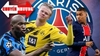 Tin chuyển nhượng 28-1-2021: PSG nhắm Lukaku hoặc Haaland để thay Mbappe